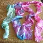Susan Averill dye party